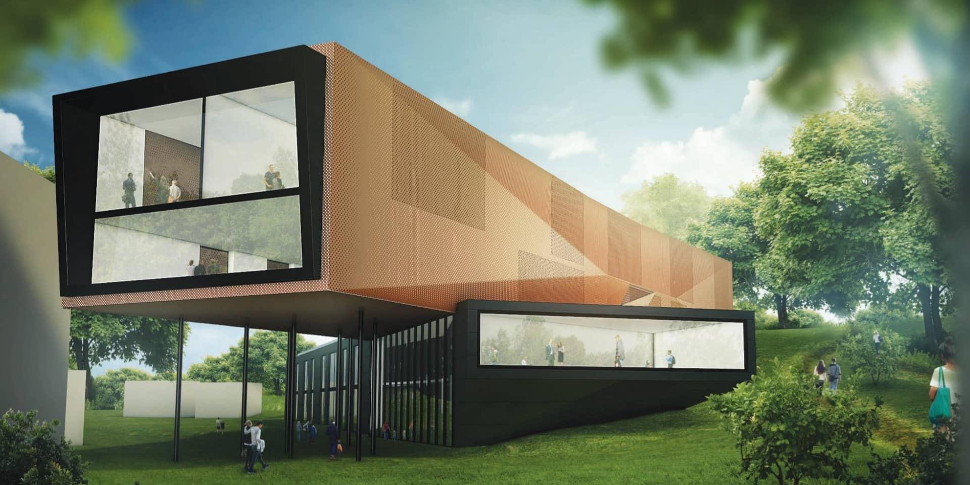Binche: Une promesse de subside pour le nouveau bâtiment du site des académies
