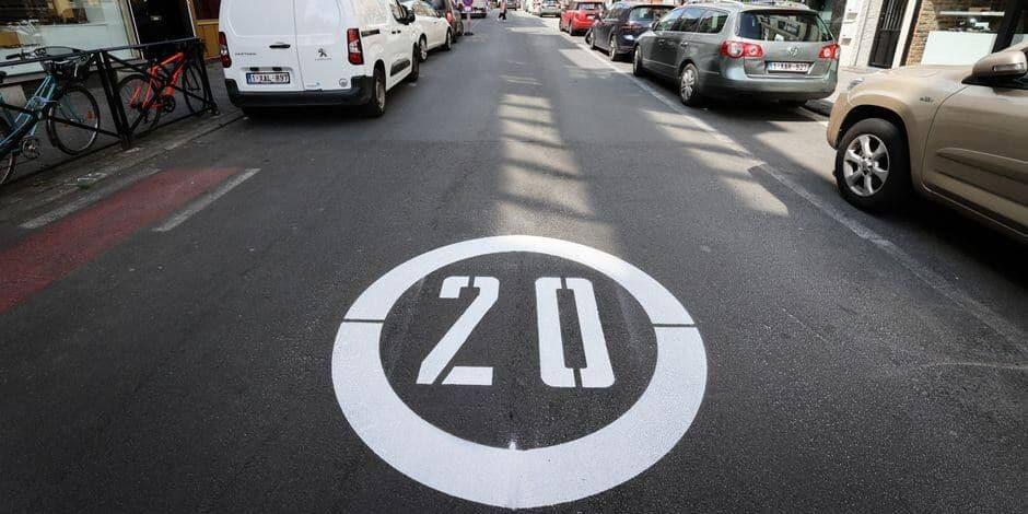 Uccle : près de 60 nouvelles zones limitées à 20 km/h verront le jour au cours des trois prochaines années