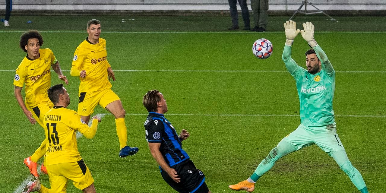 Le gardien de but de Dortmund Roman Bürki indisponible au moins dix jours