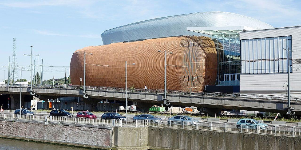 Bruxelles - Docks Bruxsel en chantier
