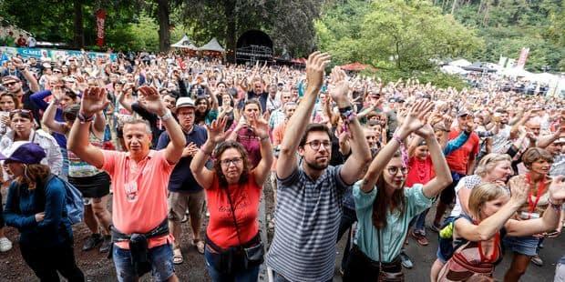 140.000 personnes ont assisté à la 25e édition des Francofolies de Spa - La DH