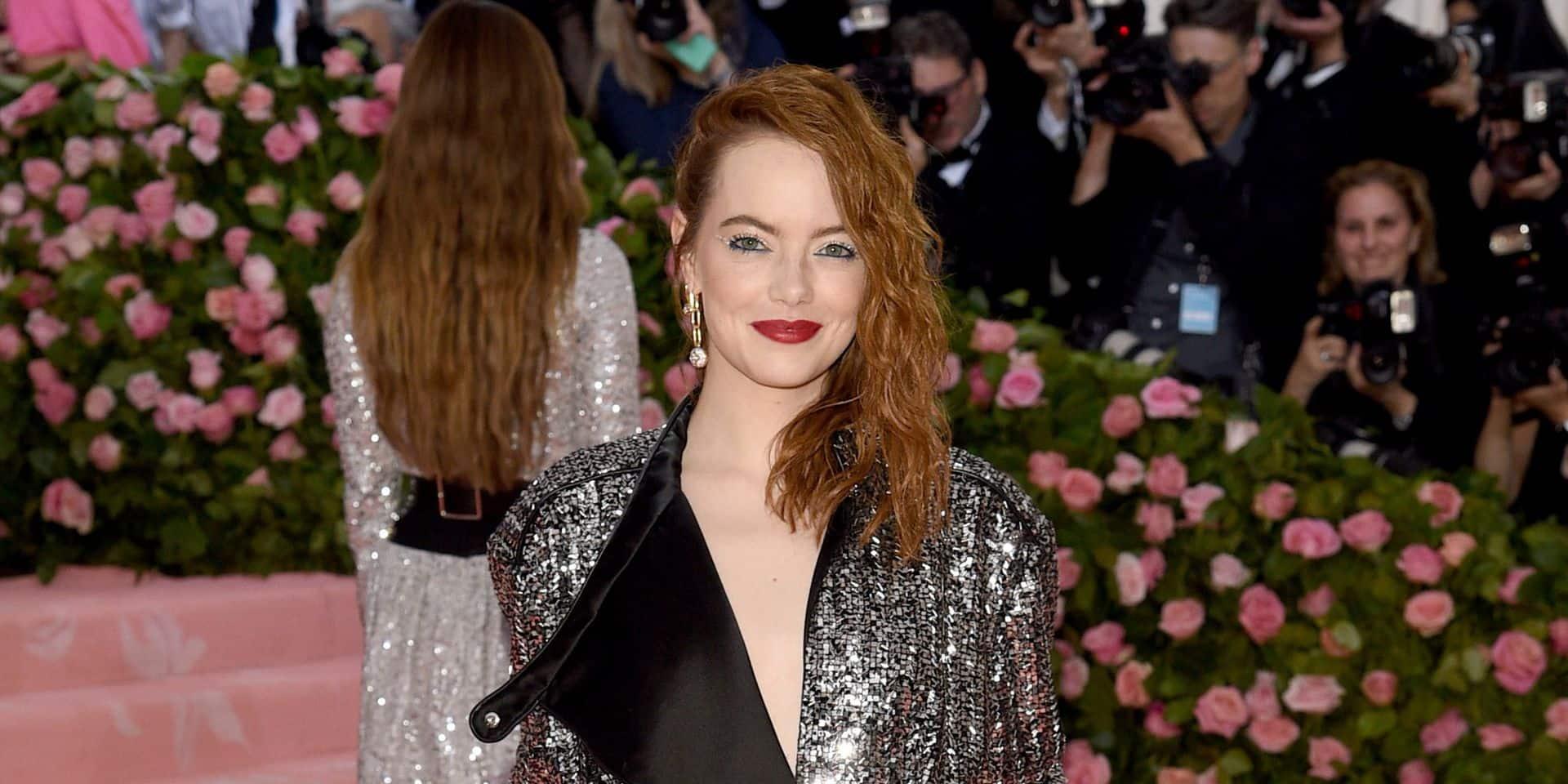 Emma Stone, qui doit tourner dans le prochain film Disney, chute et se blesse
