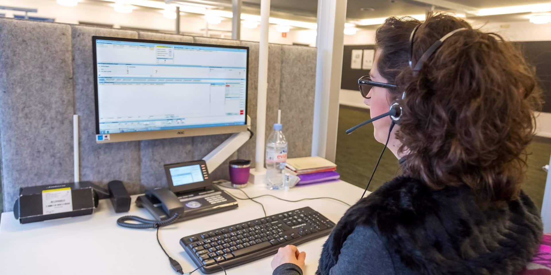 Le call center 101 à Mons fermé pour cause de coronavirus