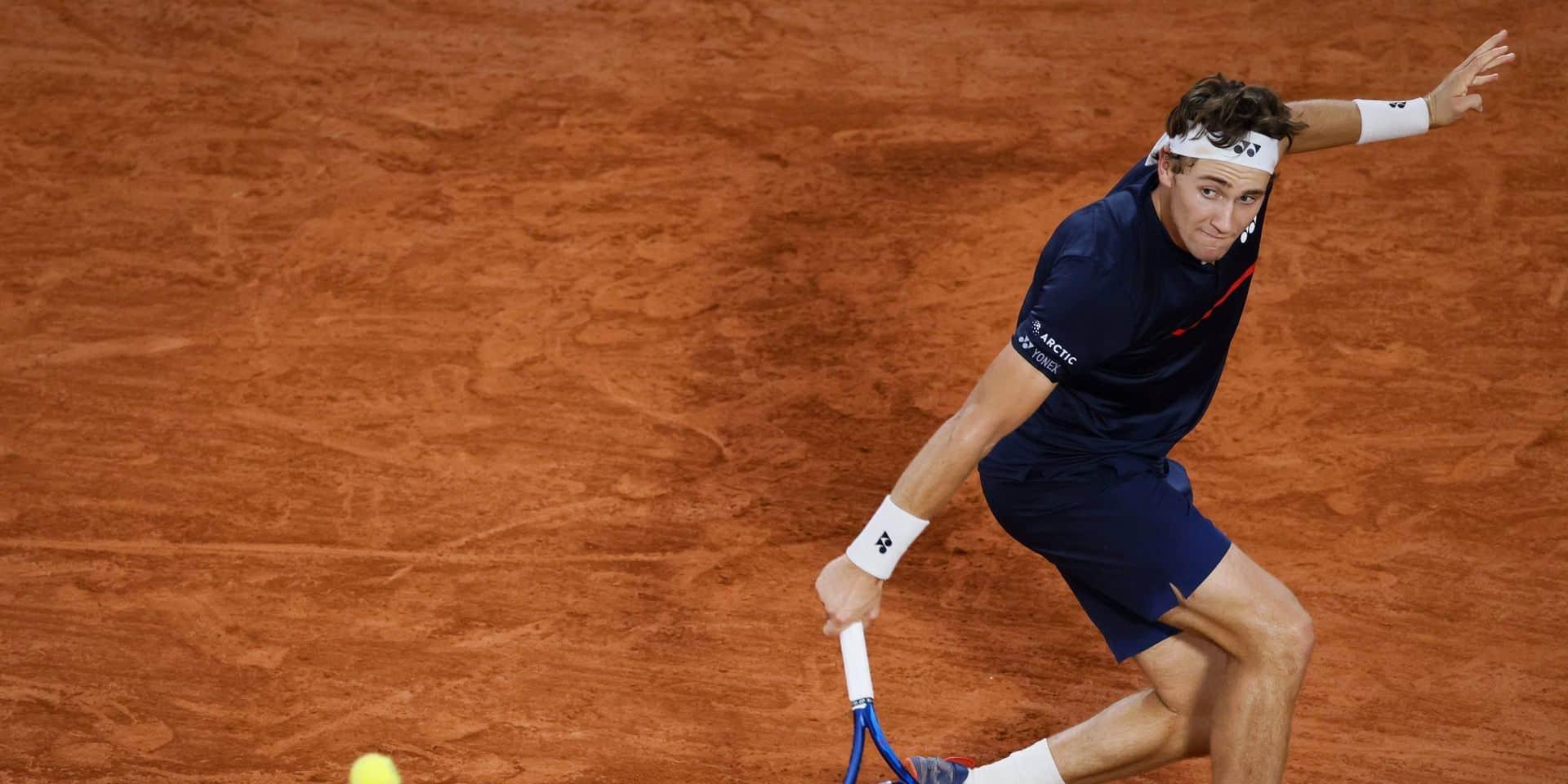 Roland-Garros: Hugo Gaston, 239e mondial, en 8e de finale en battant Wawrinka en 5 sets, Thiem bat Ruud, Nadal expéditif face à Travaglia