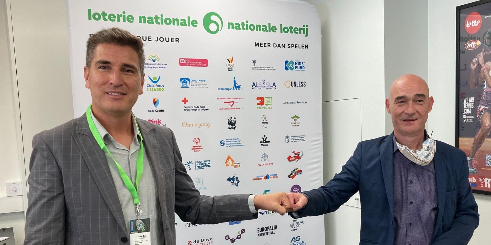 La BESF, fédération belge de l'esport, reçoit le soutien de la Loterie Nationale