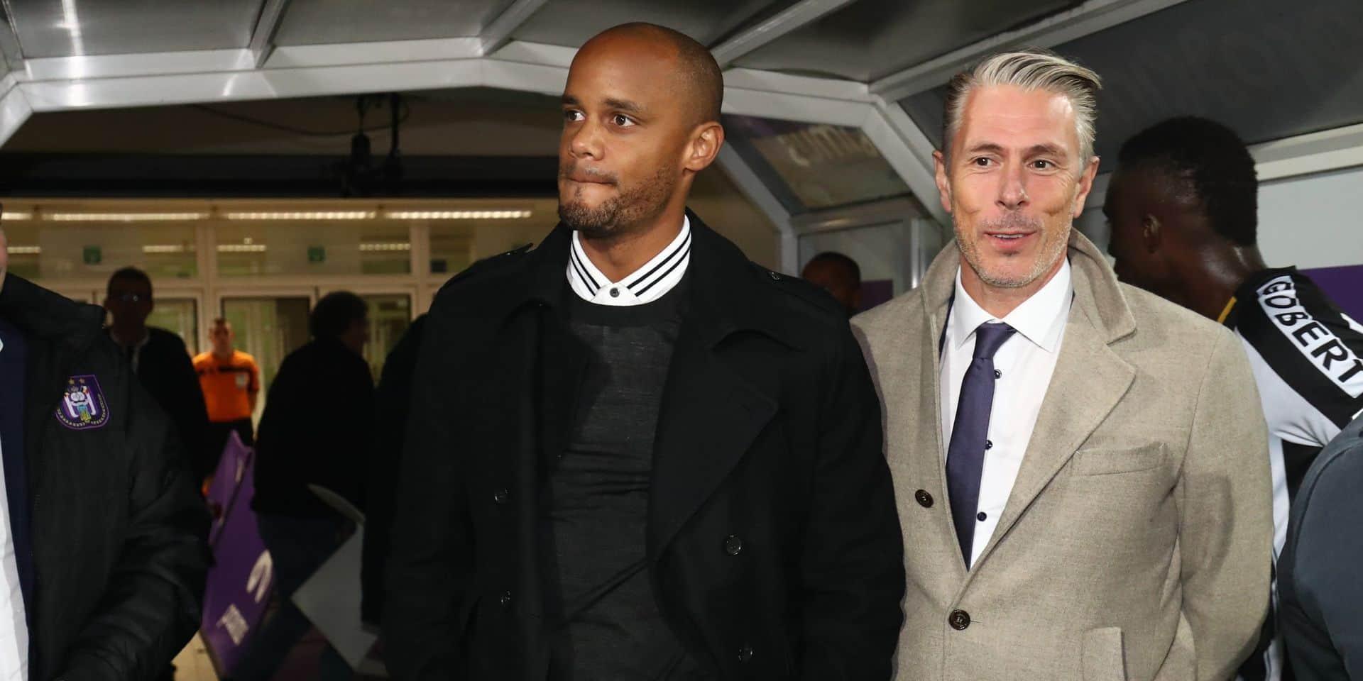 """Anderlecht a plaidé la cause de Kompany : """"Simon Davies n'était pas un entraîneur de l'ombre"""""""