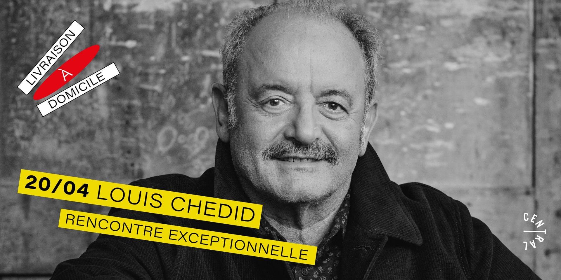 Louis Chedid en rencontre virtuelle grâce à Central