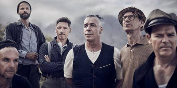 Rammstein sera en concert le 10 juin 2020 à Ostende