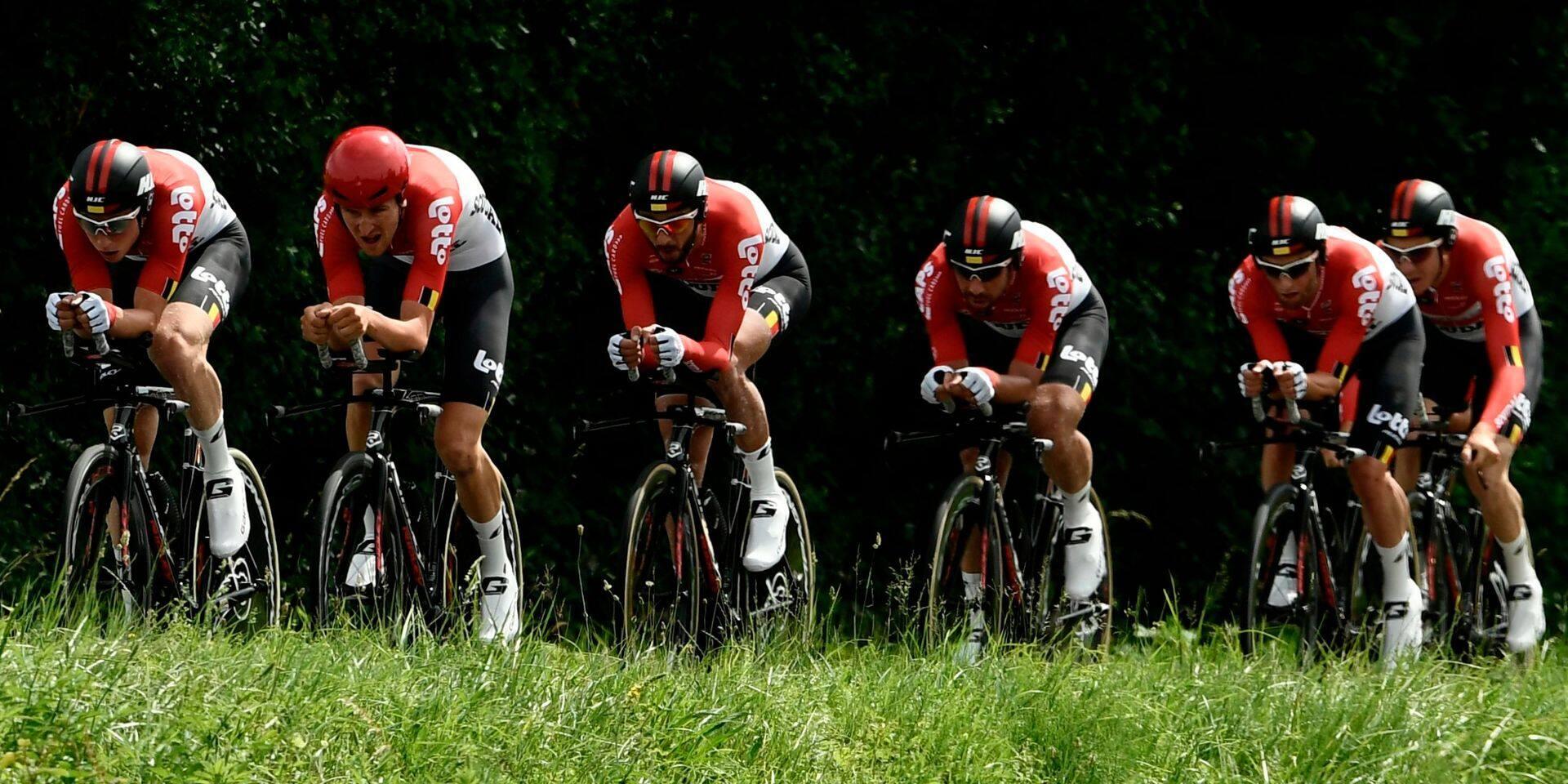 Le maillot Lotto Soudal sera adapté sur les routes du Tour de France