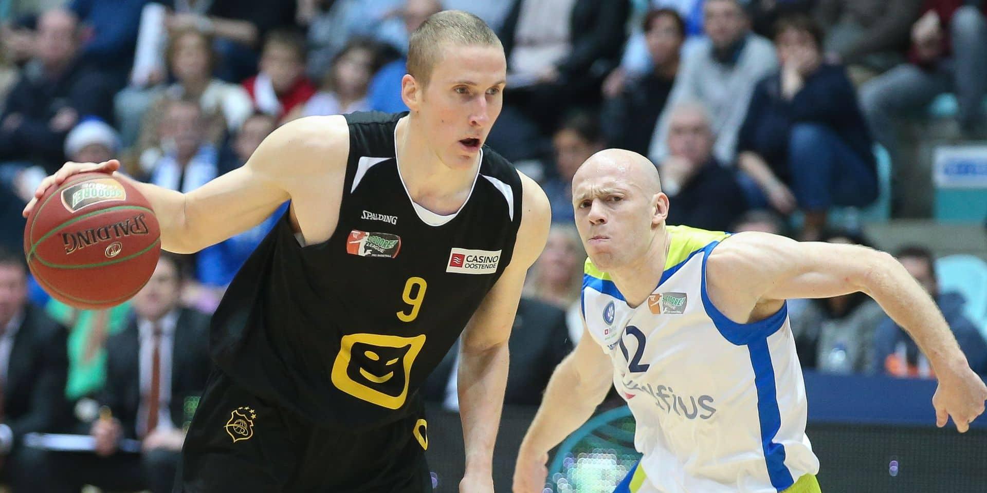 """Niels Marnegrave avant la finale de basket: """"Pour être honnête, je vois Ostende s'imposer car Mons a laissé beaucoup d'énergie en demi"""""""