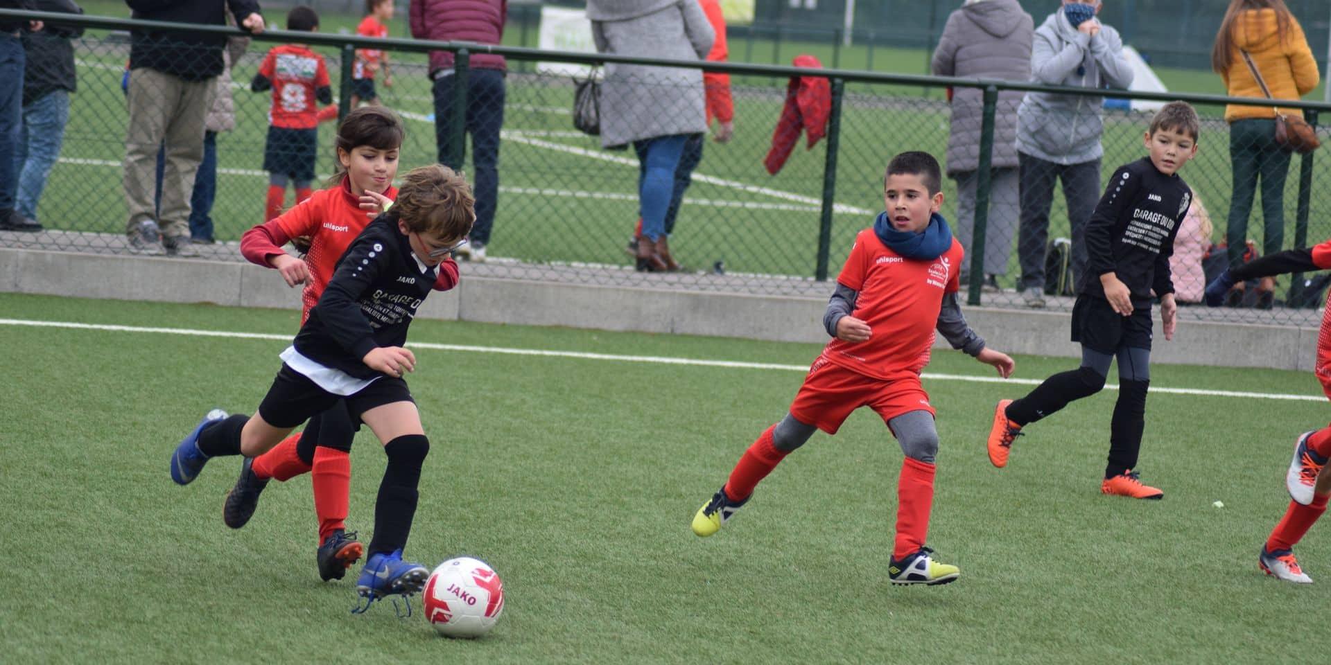 """Le football chez les jeunes n'était pas à l'arrêt: """"Le football, une bulle d'oxygène pour nos enfants"""""""