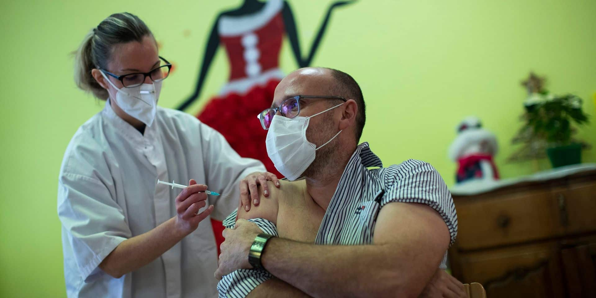 Mons: Pas d'effets secondaires chez les premiers vaccinés