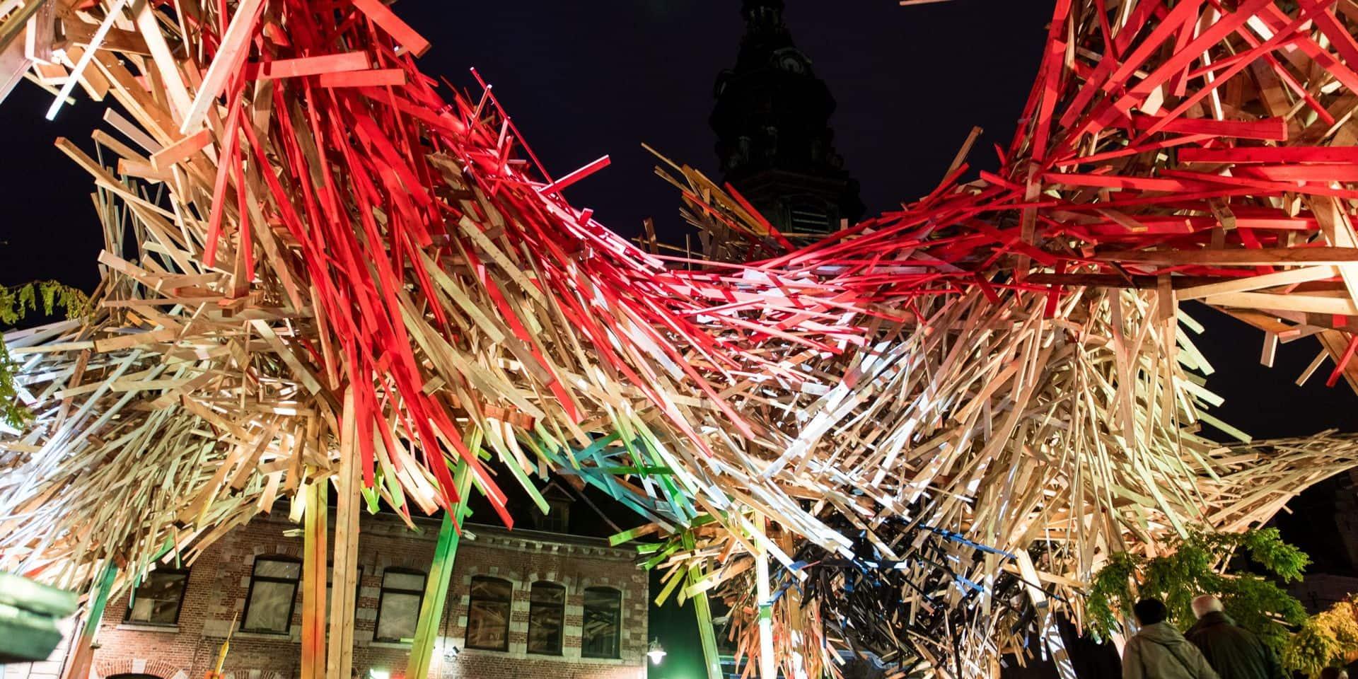 Mons: L'expo Arne Quinze repoussée en mai, le Passenger démonté en avril