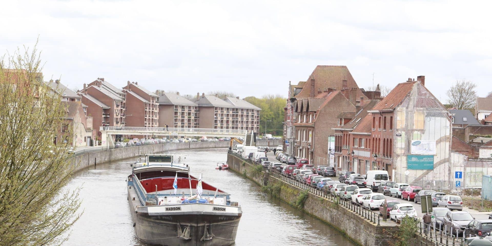 Tournai : L'entreprise CCB a fait le choix d'expédier 400.000 tonnes de granulats par voie d'eau en 2019