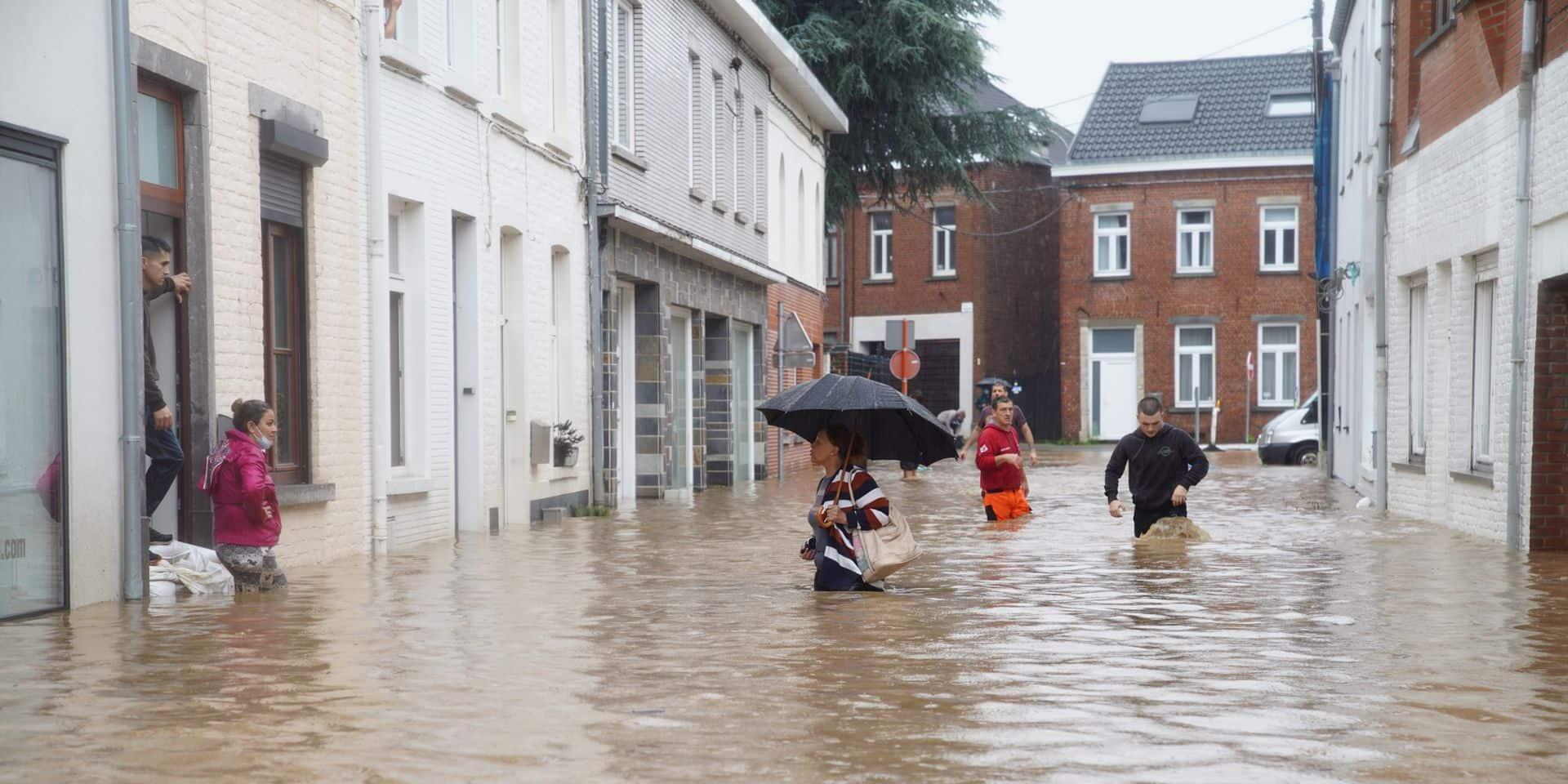 """Aurait-on pu mieux résister aux inondations ? Pour le bourgmestre de Grez-Doiceau, il faut rester réaliste : """"Même avec un bassin d'orage, on aurait été submergés !"""""""