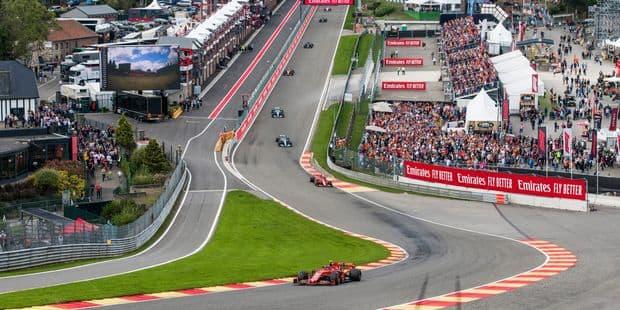 23 Grand Prix dont celui de Belgique le 29 août: découvrez le