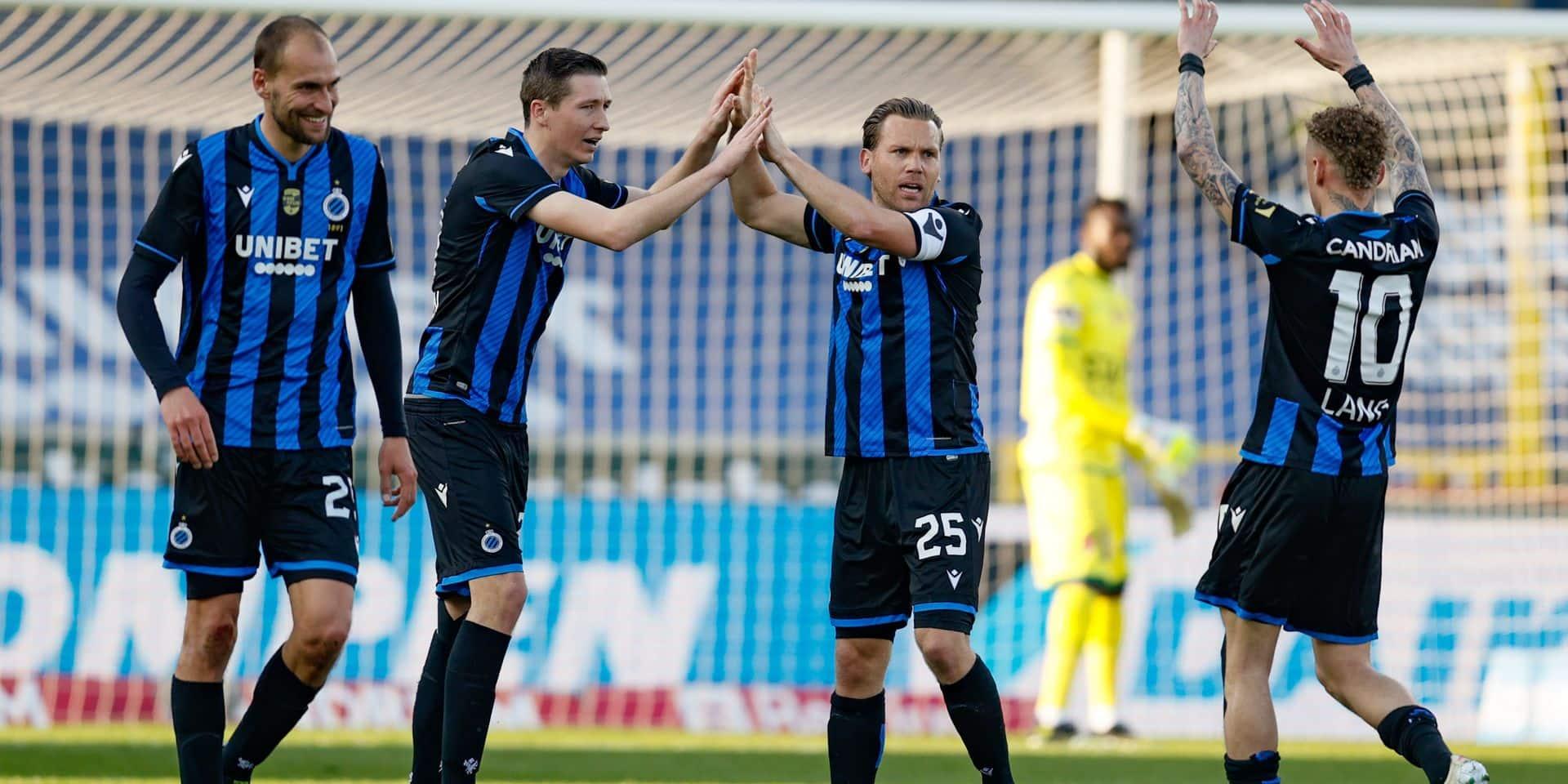 Bruges a huit points d'avance pour les PO1: nouveau record en Pro League