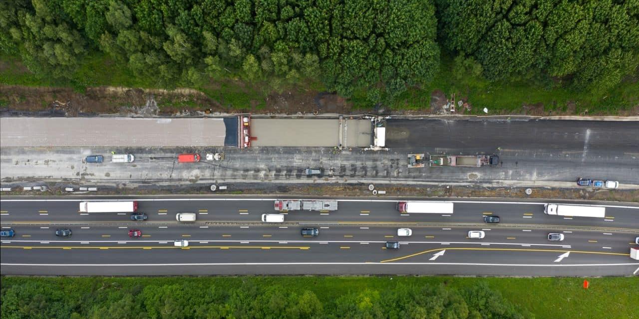 Mons: Les travaux de l'autoroute E42-E19/A7 prolongés jusqu'à la fin de l'année