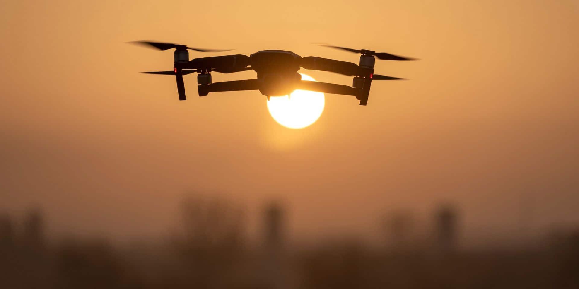 Hausse de drones au Parc naturel des sources