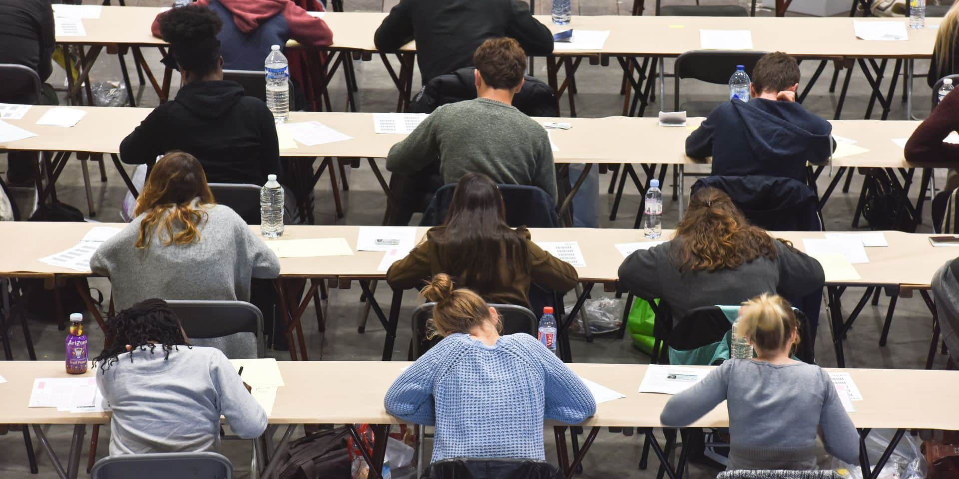 Bruxelles - examen entrée - ULB - UCL