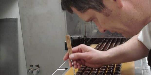 Olivier Molitor, chocolatier haute couture
