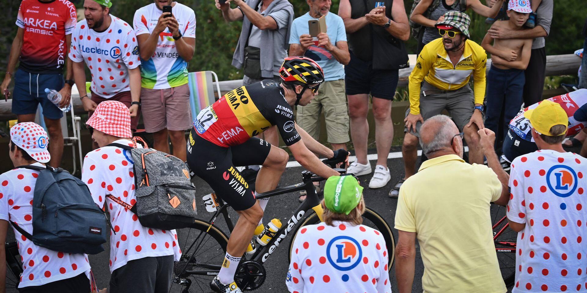 """Van Aert: """"Le maillot à pois? Si j'en ai l'opportunité…"""""""