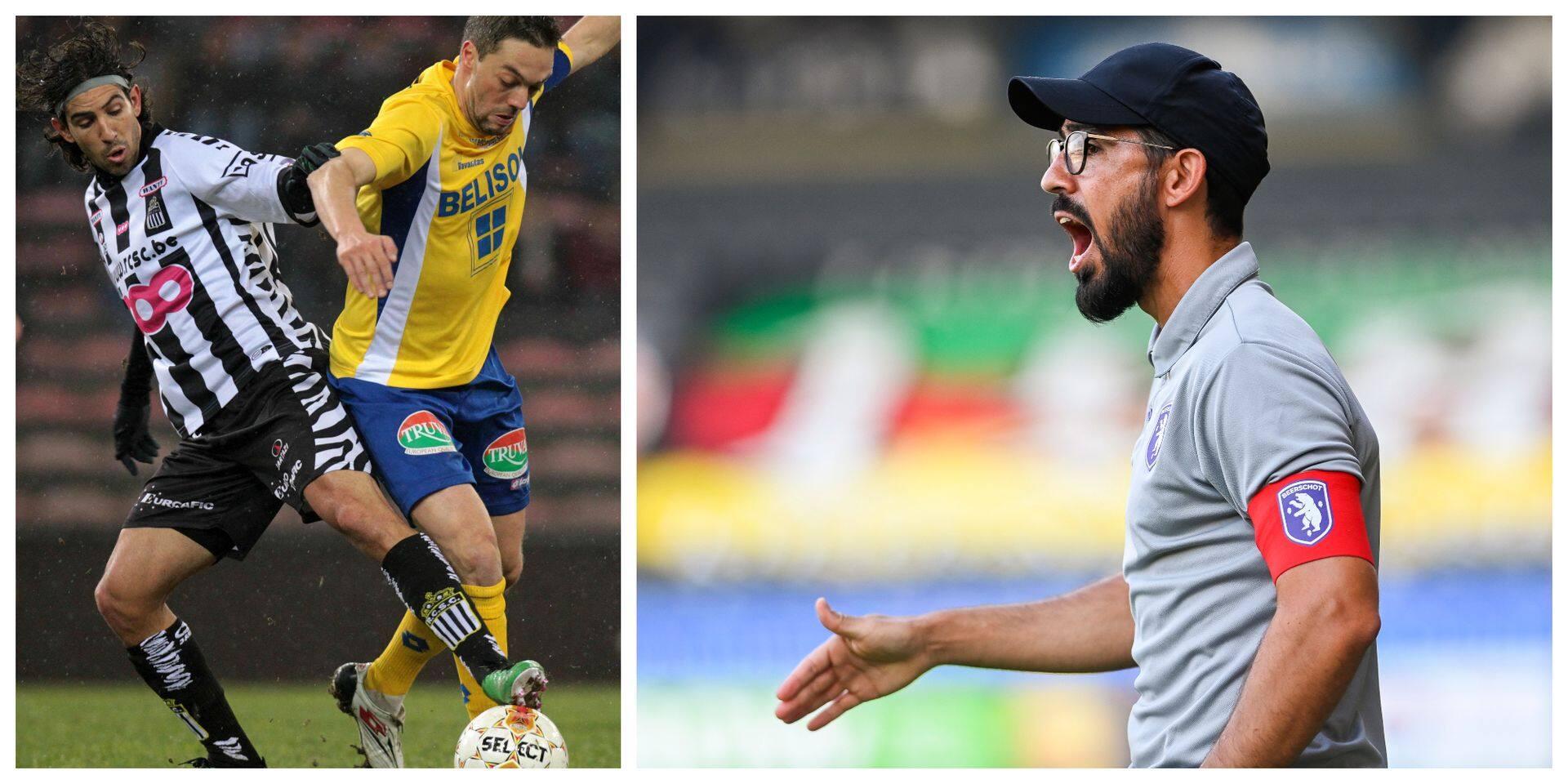 """L'ancien Zèbre Hernan Losada revient à Charleroi dans le costume d'entraîneur : """"Toutes les qualités pour réussir sur la longueur"""""""