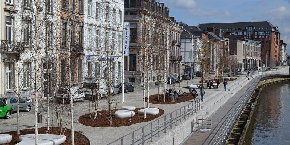 Une femme agressée sur les quais de la Sambre à Charleroi