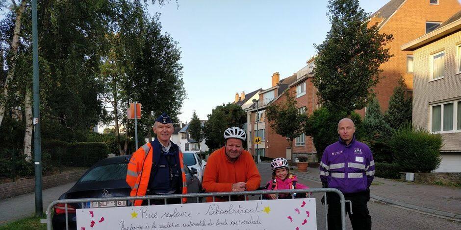 Woluwe-Saint-Pierre : Une première rue scolaire avenue des Eperviers