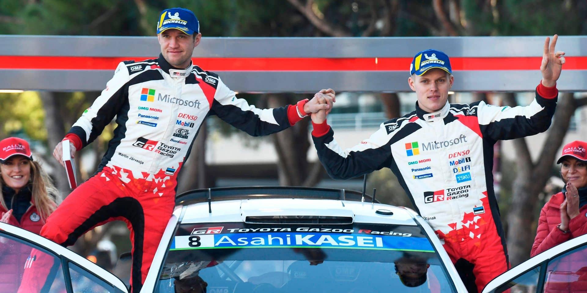 WRC: Tanak et Toyota restent favoris