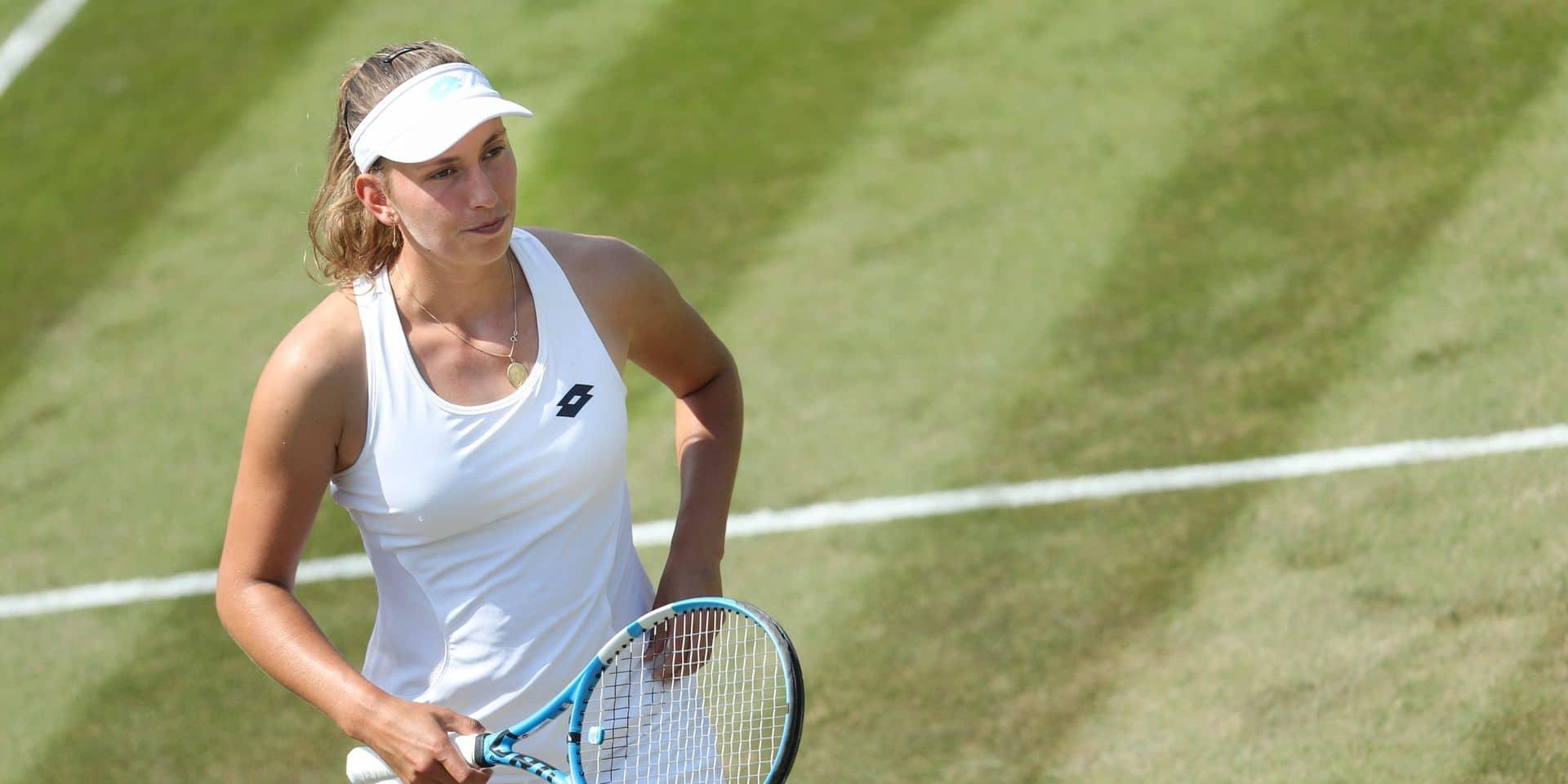 Elise Mertens éliminée au 3e tour en double avec la Néerlandaise Demi Schuurs