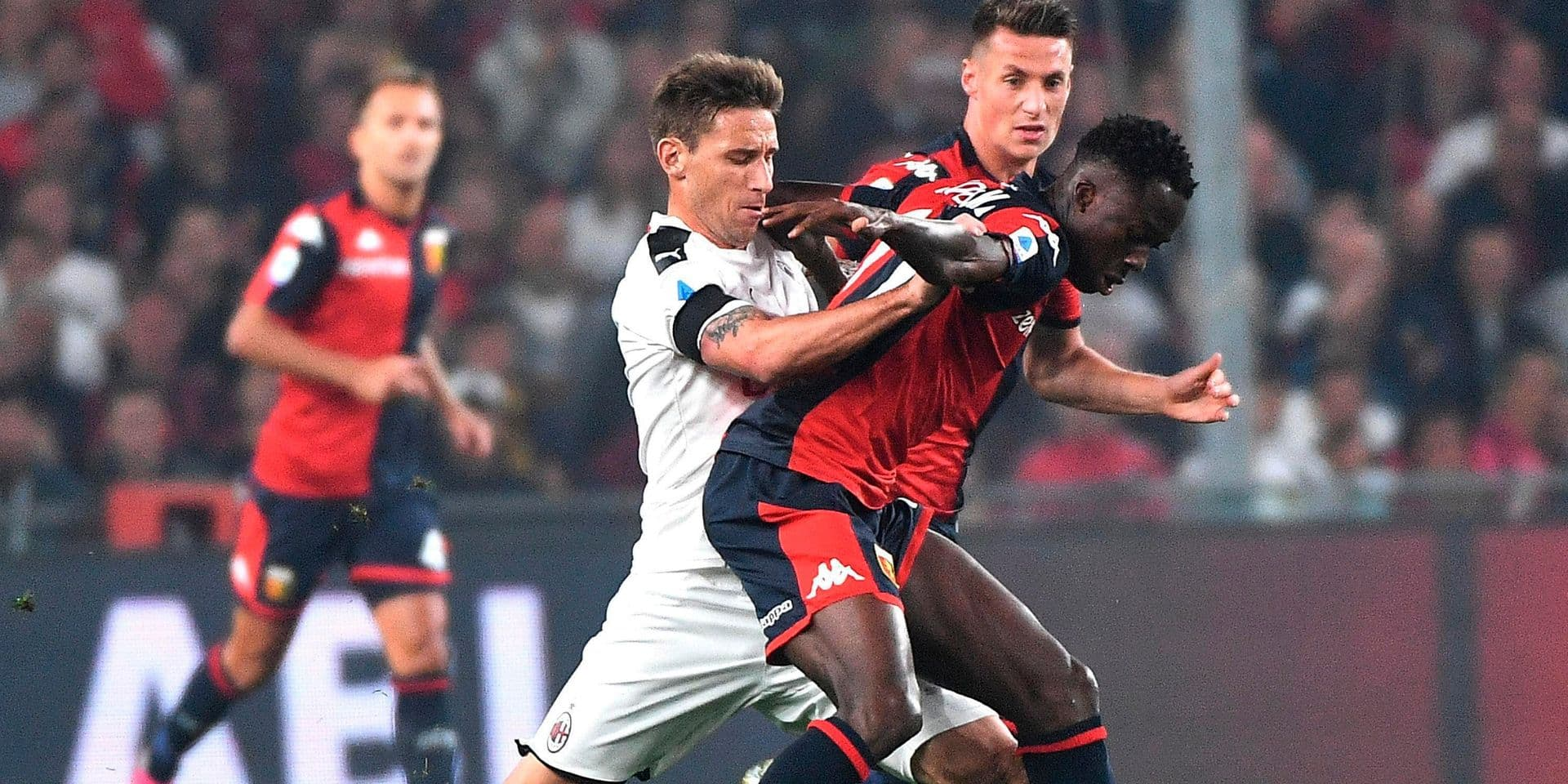 Serie A: l'AC Milan s'impose et trouve un peu de répit