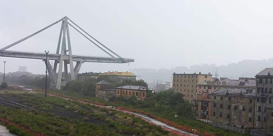 Un pont autoroutier s'effondre à Gênes, des