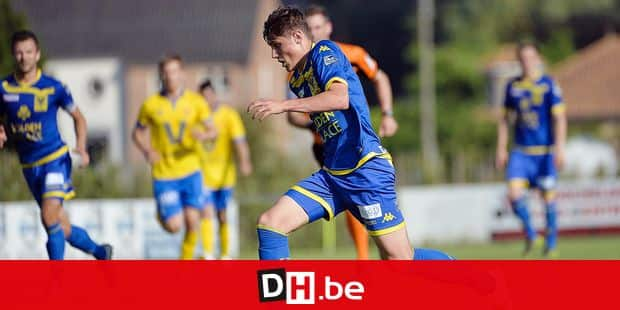 Alessio Castro Montes pictured during a friendly soccer game between third division KVK Wellen and 1st division team STVV Sint-Truiden, Saturday 25 June 2016 in Wellen. It's the first friendly game of Sint-Truiden for the upcoming season. BELGA PHOTO NICOLAS LAMBERT