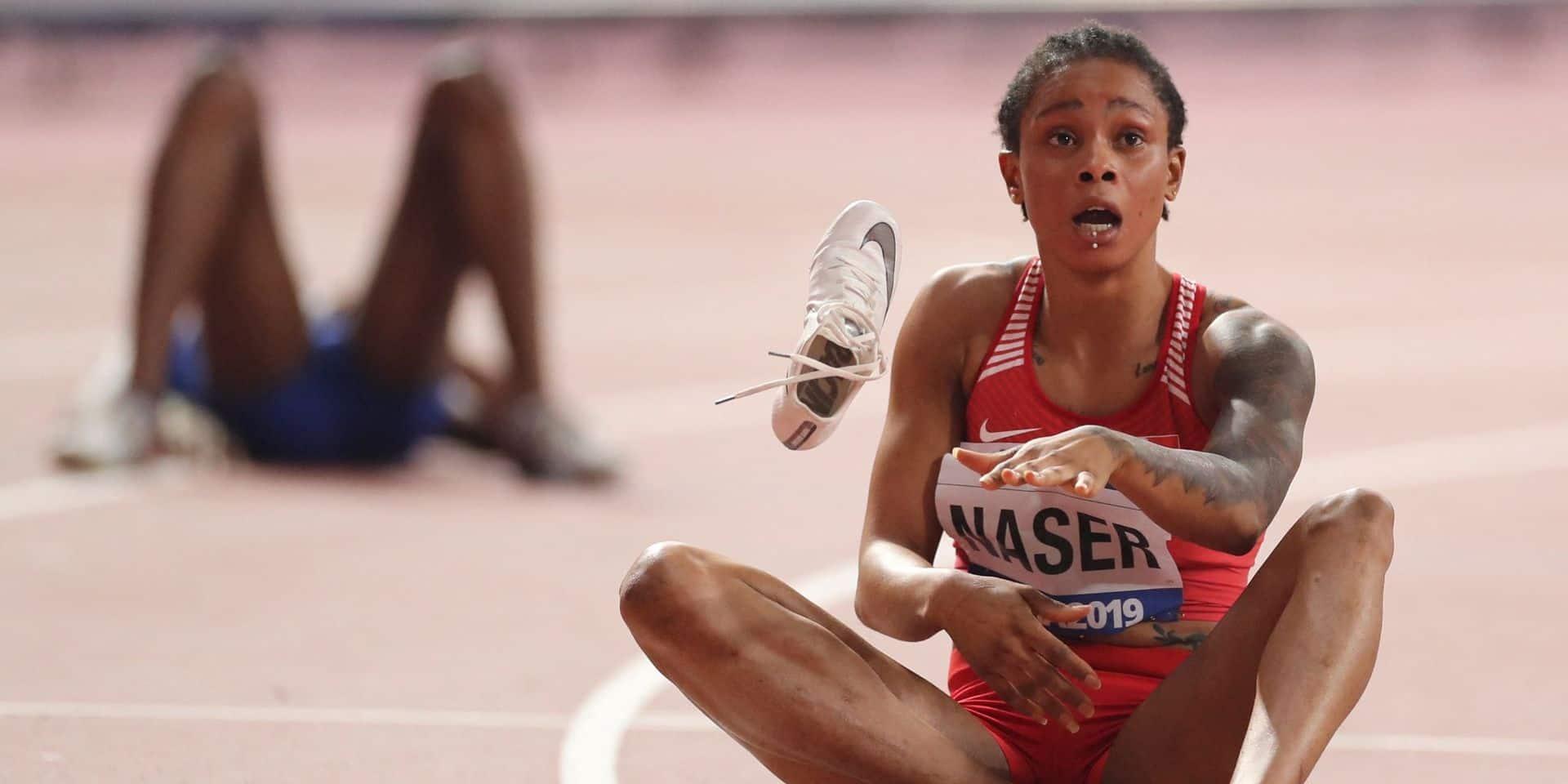 La Bahreïnie Naser, championne du monde du 400 m, suspendue deux ans et privée de JO