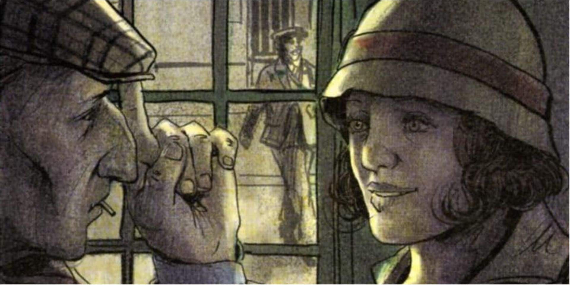 """Couleurs de l'incendie en BD : """"Monte-Cristo dans l'entre-deux-guerres"""""""
