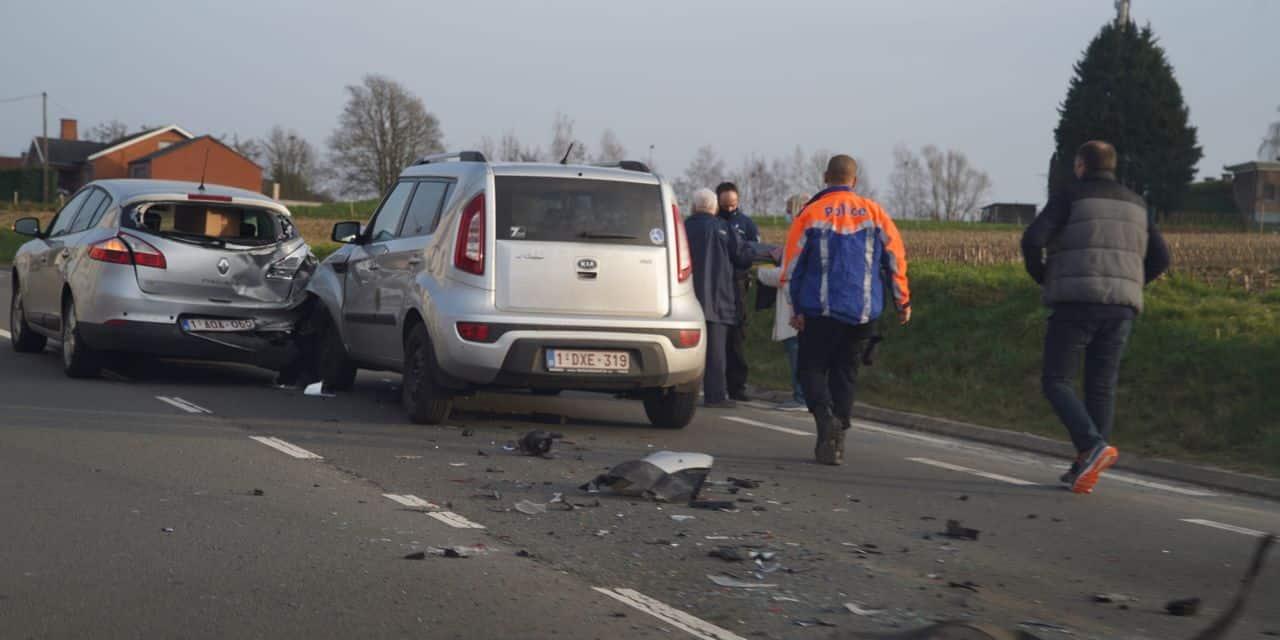 Accident sur la N28 entre Ittre et Braine-le-Château: embarras de circulation