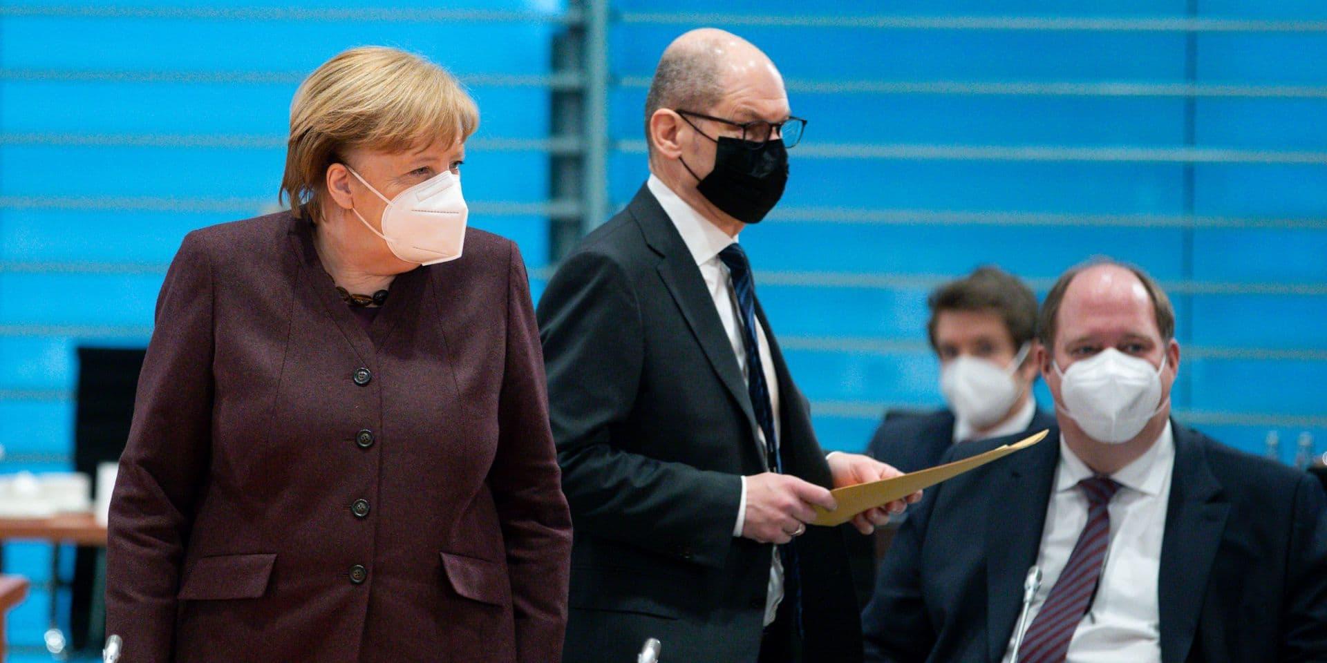 Le gouvernement allemand veut prolonger les restrictions sanitaires jusqu'au 14 mars