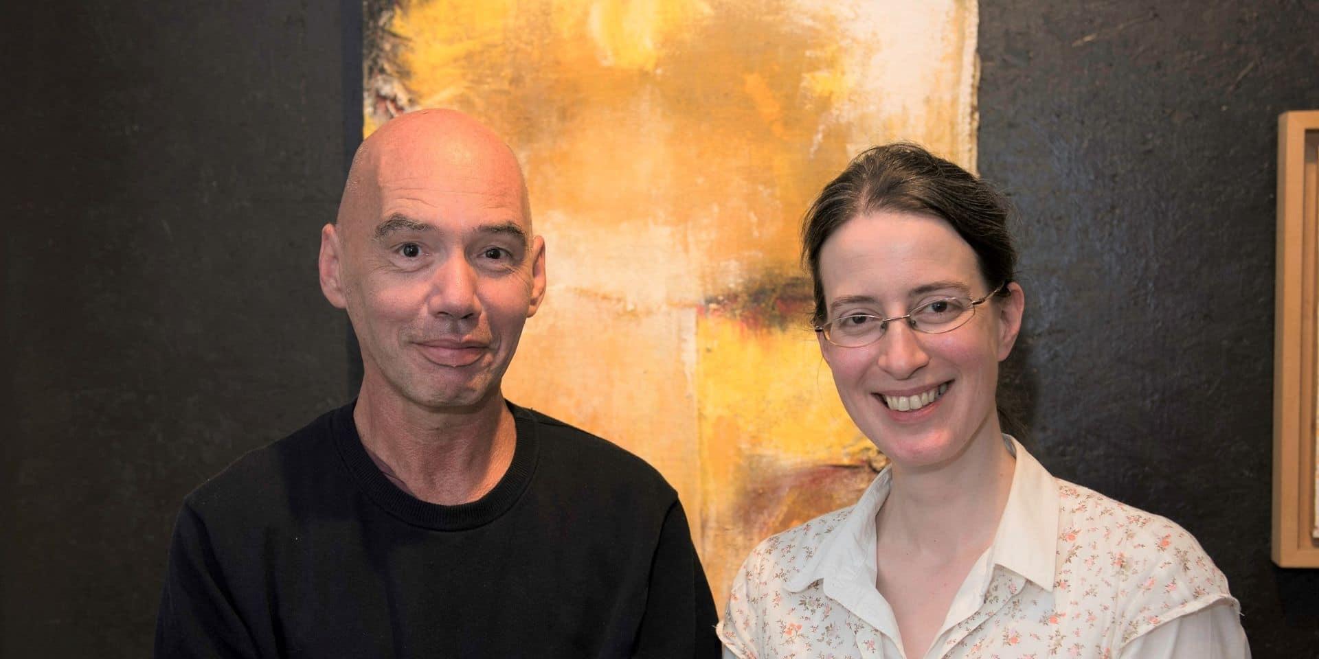 Bastogne : Marie-Marthe Hauferlin et Eric Neuberg exposent au Vieux Marronnier