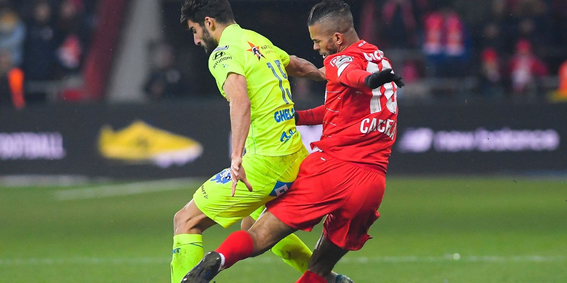 """Carcela : """"La rouge ? Non, je touche le ballon"""""""