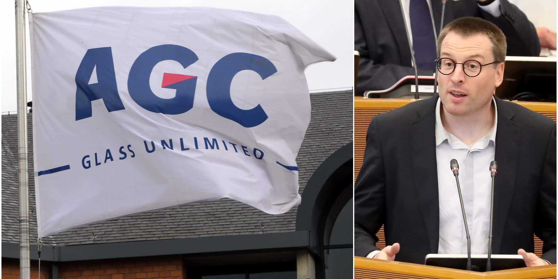 """Le PTB crie au scandale après les licenciements chez AGC à Seneffe: """"Comment une multinationale largement bénéficiaire se permet-elle cette décision?"""""""