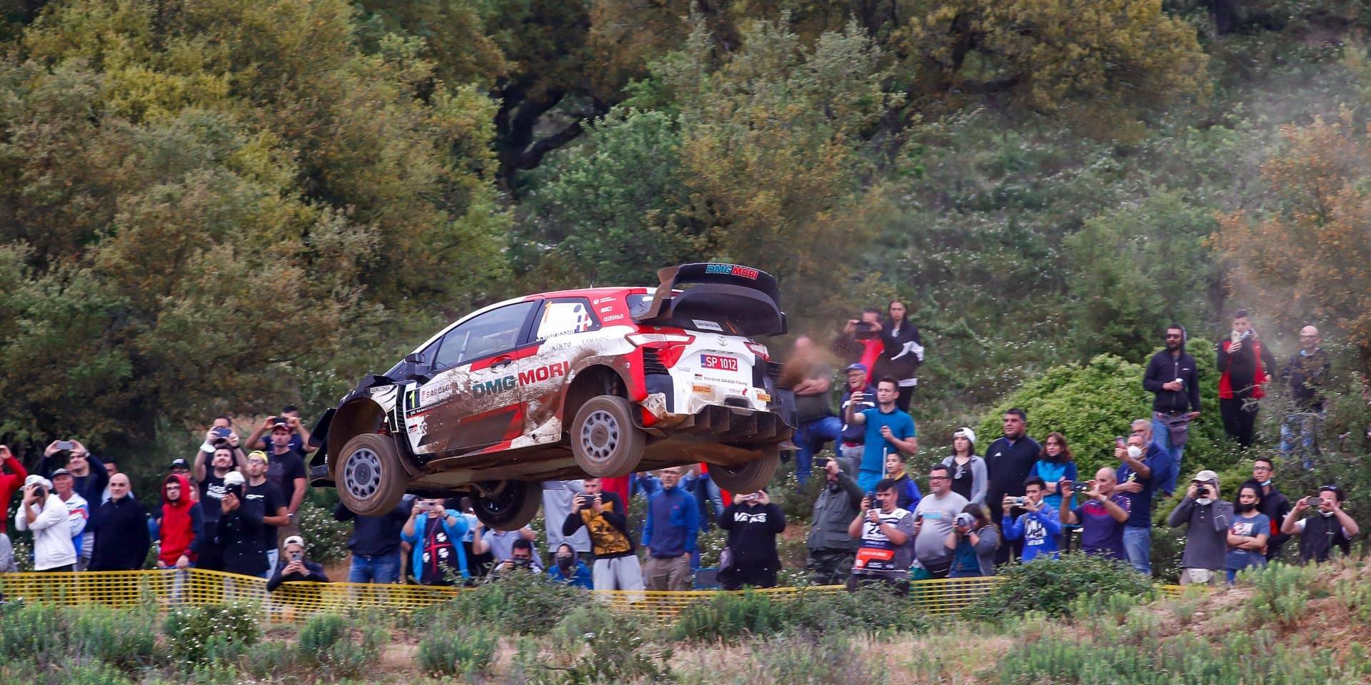 WRC Sardaigne ES18: Scratch pour Neuville, les Toyota assurent