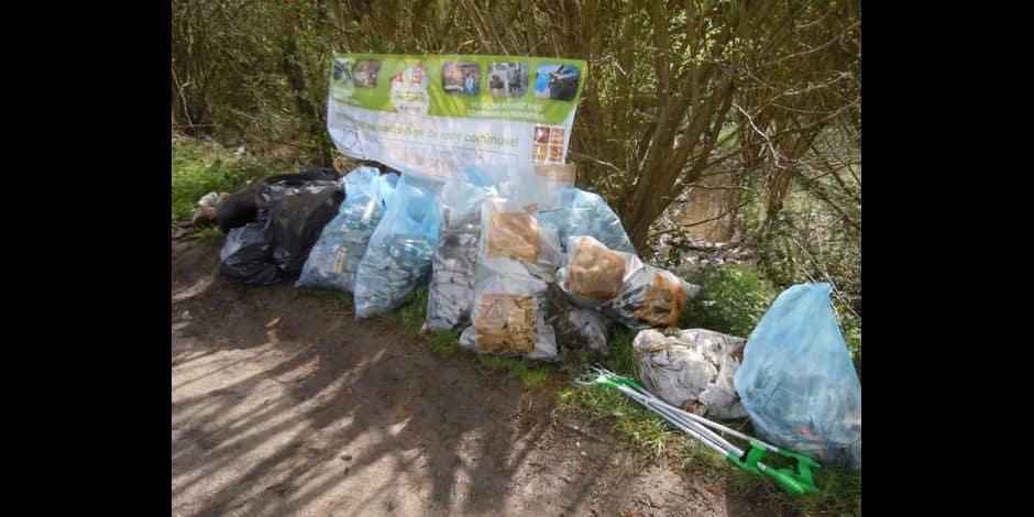 Plusieurs tonnes de déchets récoltés à la station d'épuration de Pepinster