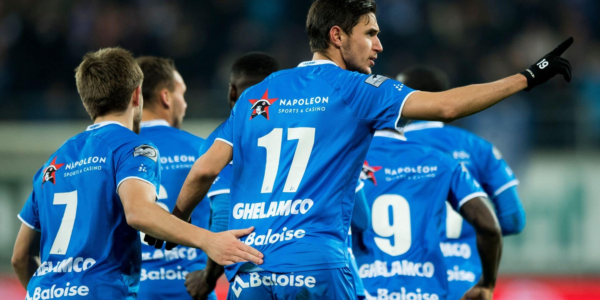 Pro League: la Gantoise conforte sa 5e place en écartant Courtrai (3-1)
