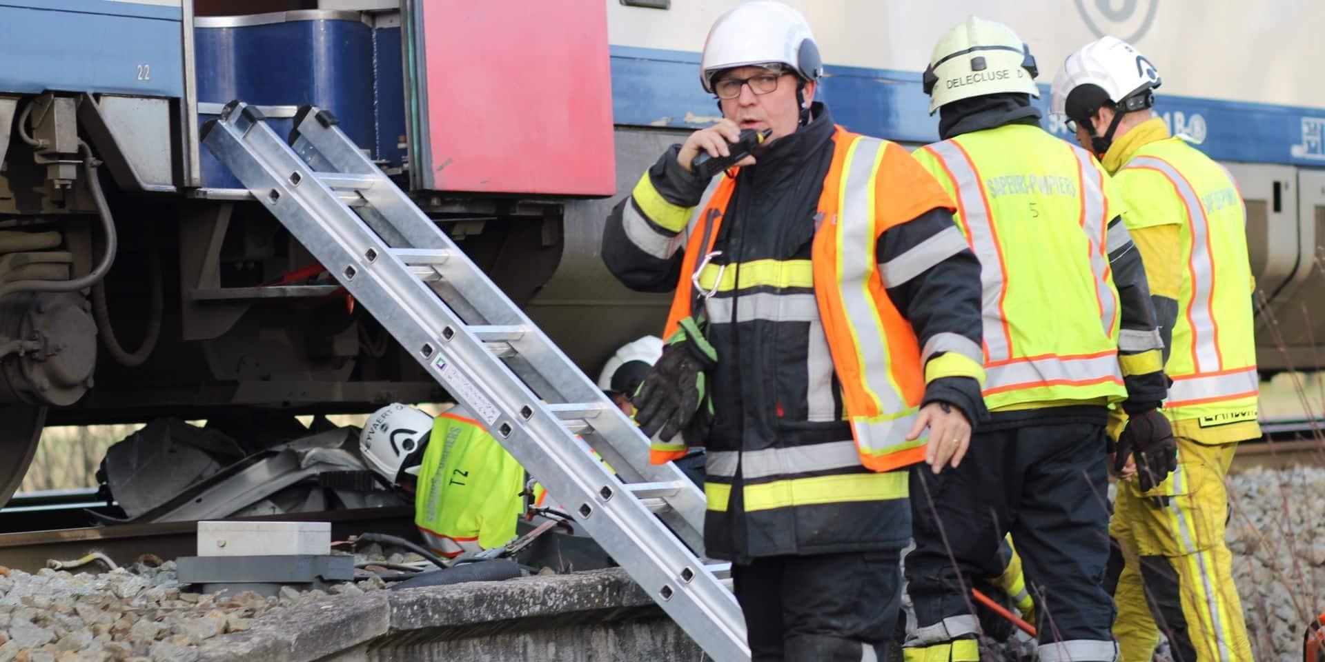 Havinnes: issue tragique suite à une collision entre un véhicule et un train sur le passage à niveau