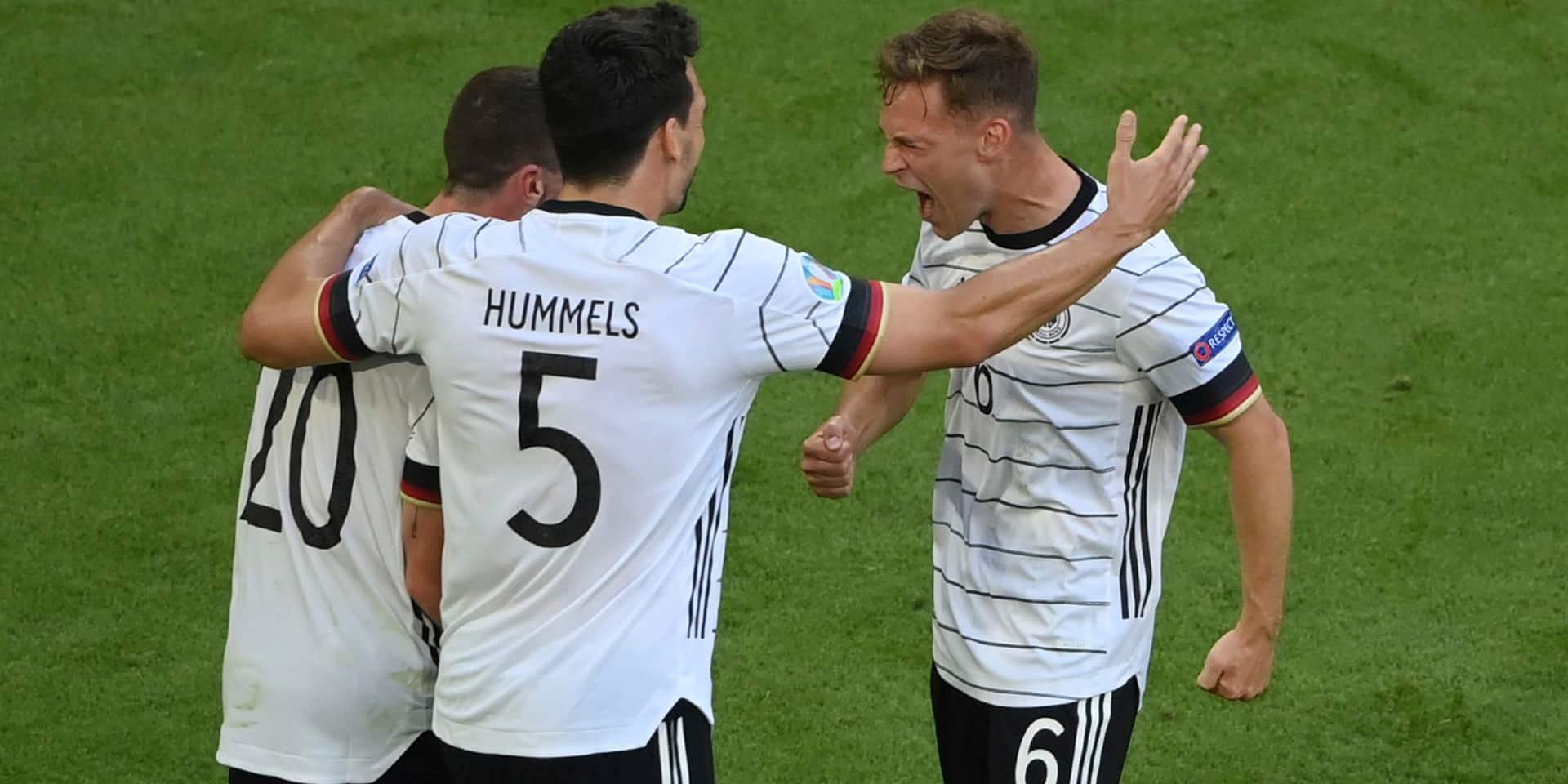 Face au Portugal, l'Allemagne a montré son instinct de survie