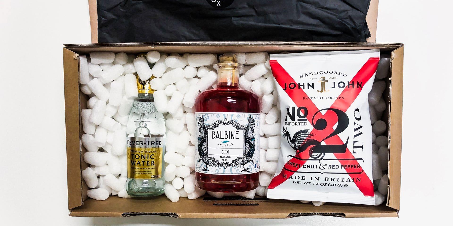Gin in the Box: quand les boxes à domicile s'invitent pour l'apéro