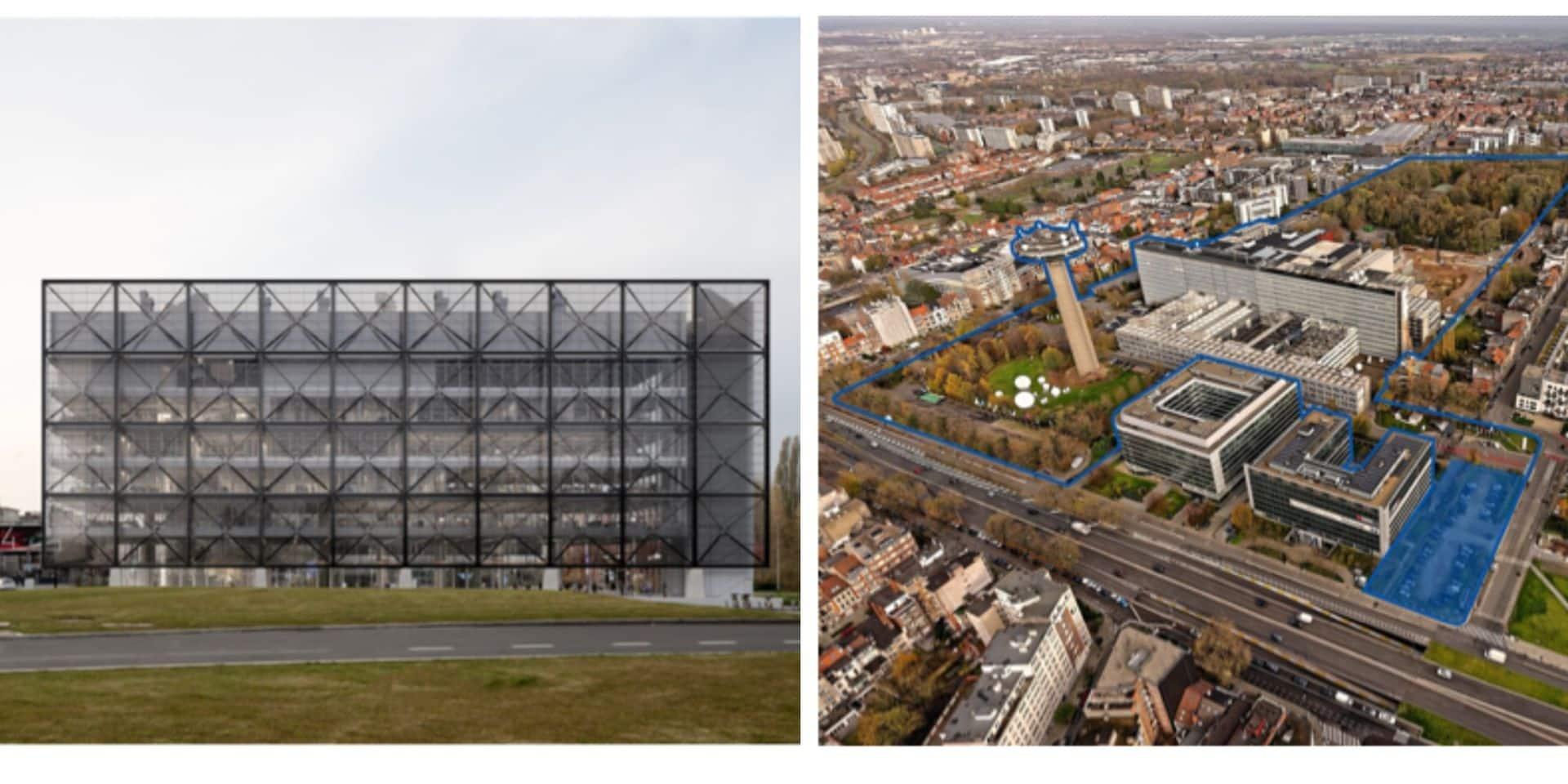 Coup d'envoi du chantier de Frame, future vitrine de la cité des médias à Bruxelles
