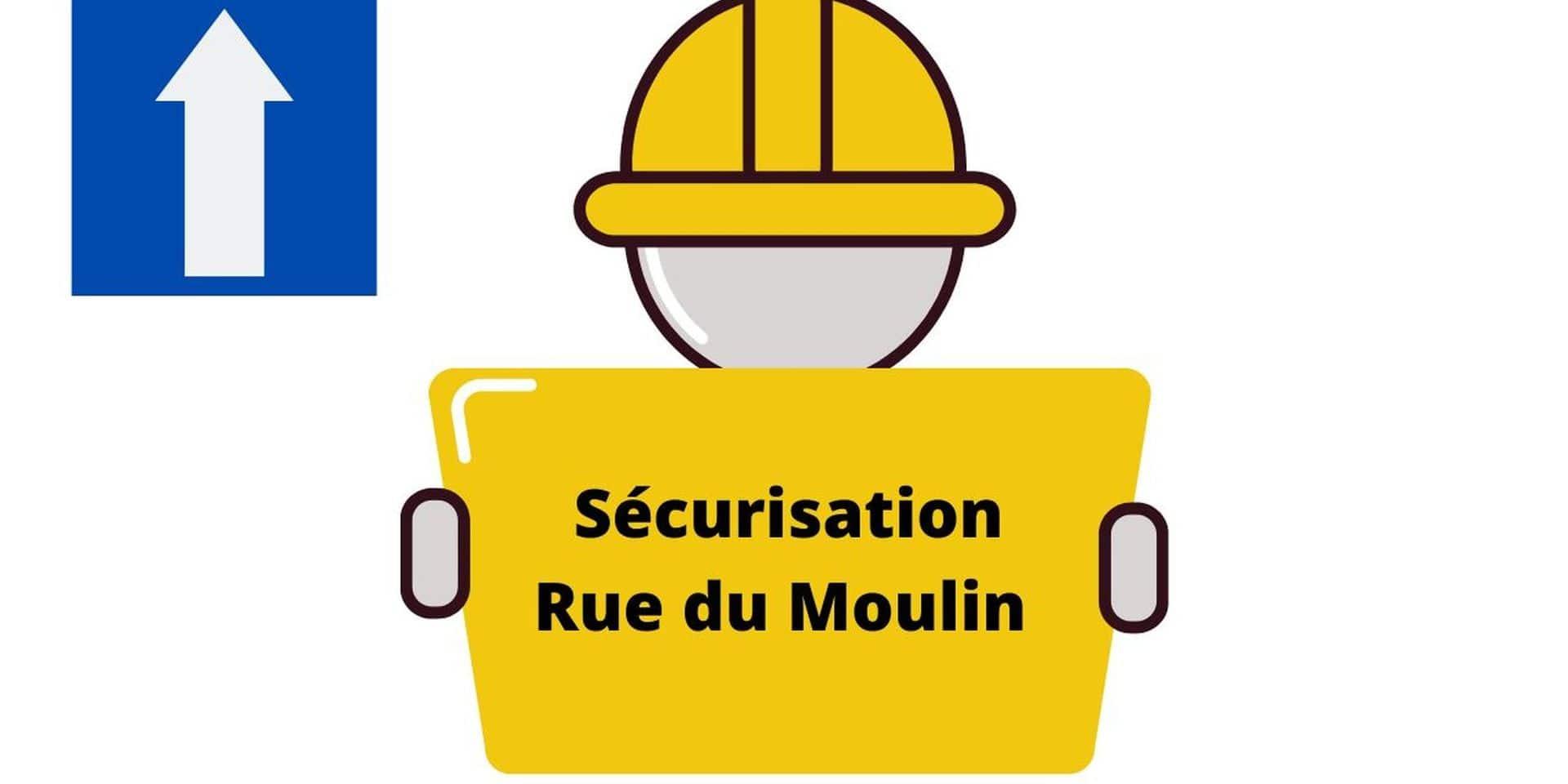 Péruwelz : travaux de sécurisation rue du Moulin