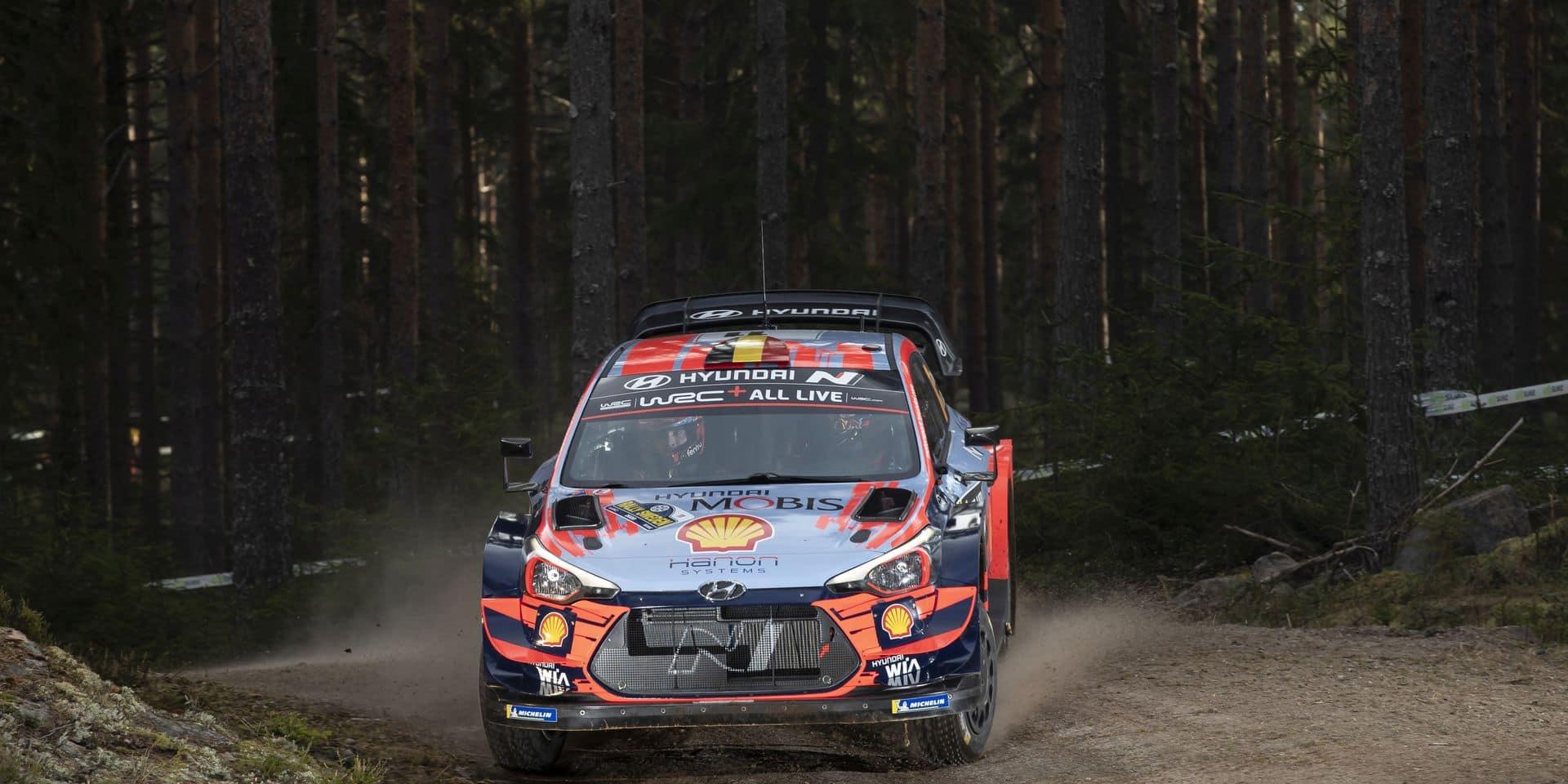 """Thierry Neuville avant le Rallye de Suède : """"Pas une bonne idée de nous emmener ici """""""